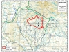 Map of Cascade Creek Fire extent 9-13-12