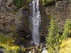 Crooked Creek Falls, Bird Creek Meadows on 9-19-09, by Darvel Lloyd