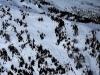 Snowmobile tracks on Hellroaring Ridge 5-7-17 Darryl Lloyd