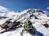 Snowmobiles on top of Little Mt Adams 4-3-16 800w