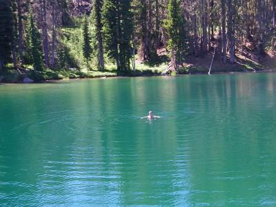roger swimming